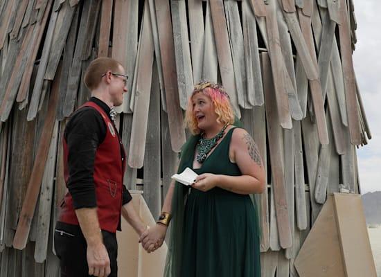 פסטיבל ברנינג־מן בנבאדה / צילום: Reuters, JIM BOURG