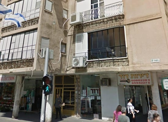 הדירה ברחוב יוספטל בבת ים / צילום: קטי פלדמן
