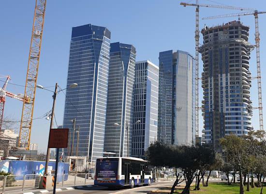 מתחם חסן ערפה בתל אביב. מאנדיי שכרה אלפי מ''ר / צילום: גיא ליברמן