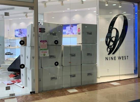 חנות  ניין ווסט בדיזינגוף סנטר נסגרת / צילום: תמונה פרטית