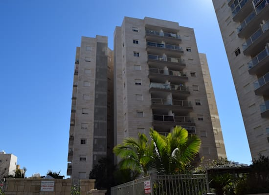 בניין רחוב העונות 6, אשקלון / צילום: בר - אל