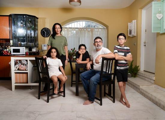 משפחת הריס / צילום: איל יצהר