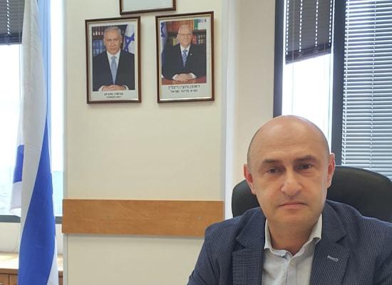יורי גמרמן, ראש מטה שיווק הדירות / צילום: משרד הבינוי והשיכון