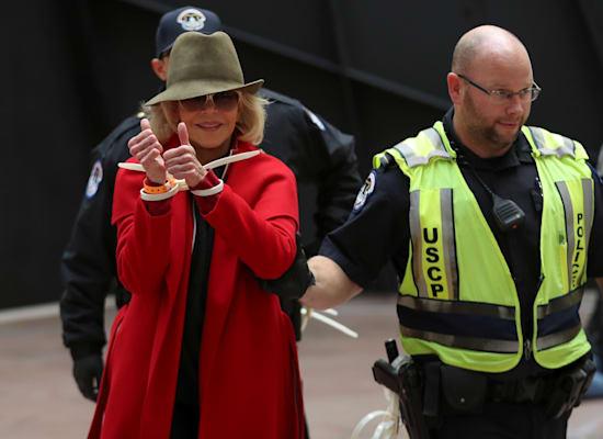 ג'יין פונדה / צילום: Reuters, Siphiwe Sibeko