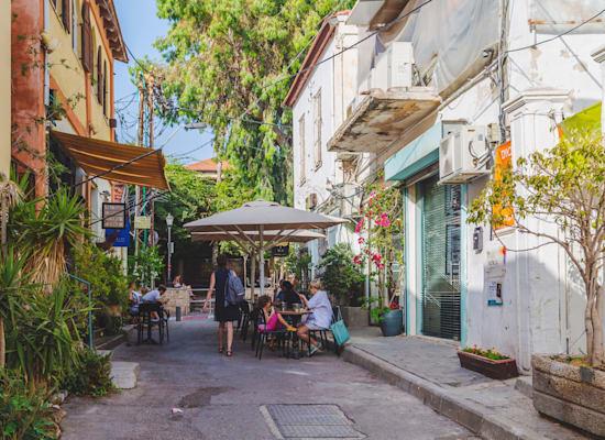 שכונת נווה צדק בתל אביב / צילום: Shutterstock, ColorMaker