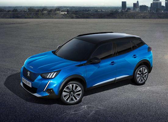 """Peugeot-e-2008 / צילום: יח""""צ"""