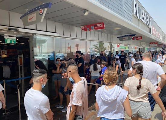 קונים ביום הבחירות בביג אילת / צילום: ביג מרכזי קניות