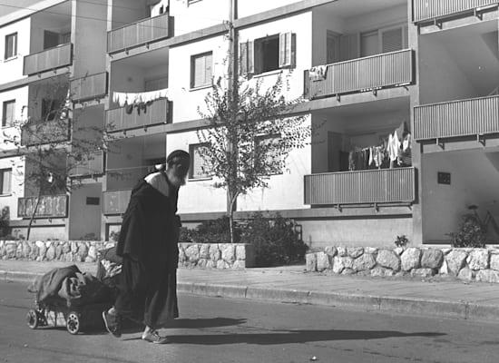 שדרות בשנותיה הראשונות / צילום: משה פרידן - לע