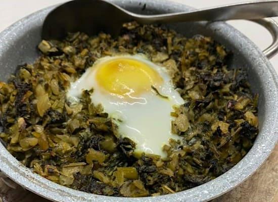 תבשיל עשבי חורף / צילום: מינרווה דאוד