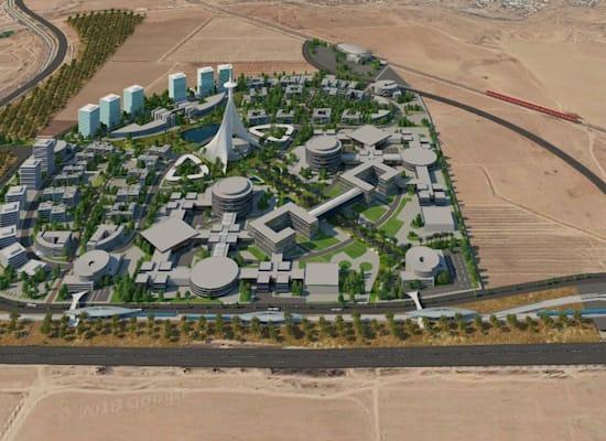 הדמיה של בית החולים שיוקם בבאר שבע / צילום: יעד אדריכלים