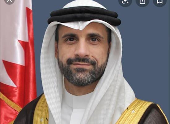 שגריר בחריין החדש, חאלד יוסף אל ג'לאהמה / צילום: משרד החוץ של בחריין