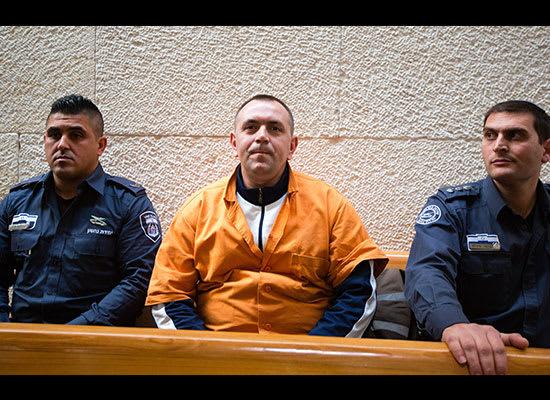 רומן זדורוב בבית המשפט. ממשיך לטעון בנחרצות שקרבצנקו ביצעה את הרצח / צילום: דודי ועקנין