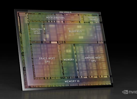 NVIDIA DRIVE Atlan - פלטפורמת הרכב האוטונומי שתניע את דור המכוניות האוטונומיות הבא / צילום: באדיבות NVIDIA