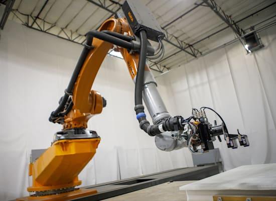 הדפסה במדפסת תלת-ממד, ללא צורך בקונסטרוקציה / צילום: Reuters, TNS/ABACA