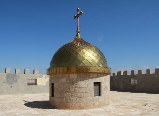 מנזר בקאסר אל יהוד, בגבול ירדן / צילום: אורלי גנוסר