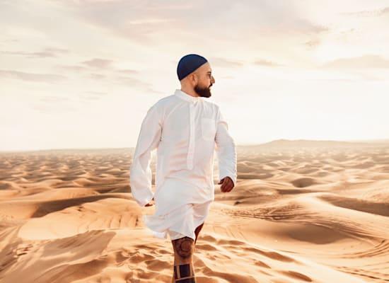 המדבר בדובאי / צילום: אדיר אסארף, באדיבות חן עמר