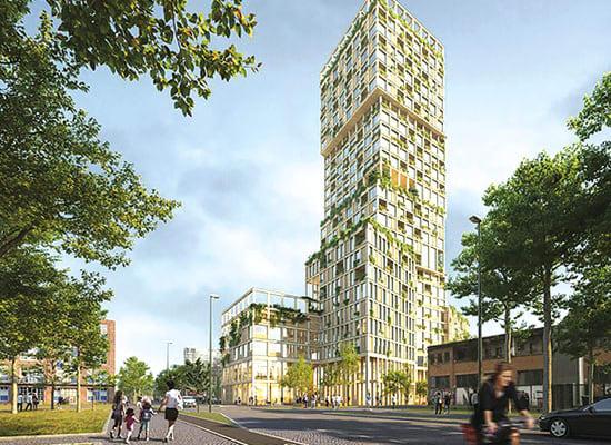 ברלין, WoHo / הדמיה: Moriyama&Teshima Architects, MAD