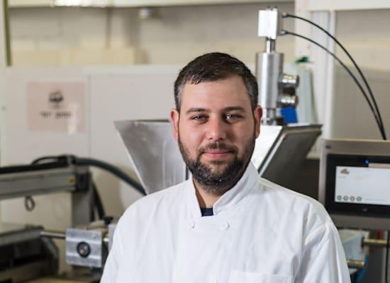 דניאל ברקת, בעל מפעל השוקולד / צילום: אורי ברקת