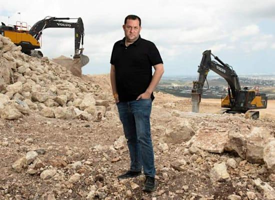 """יוסי דגן יו""""ר מועצה אזורית שומרון / צילום: יחסי ציבור מועצה אזורית שומרון"""