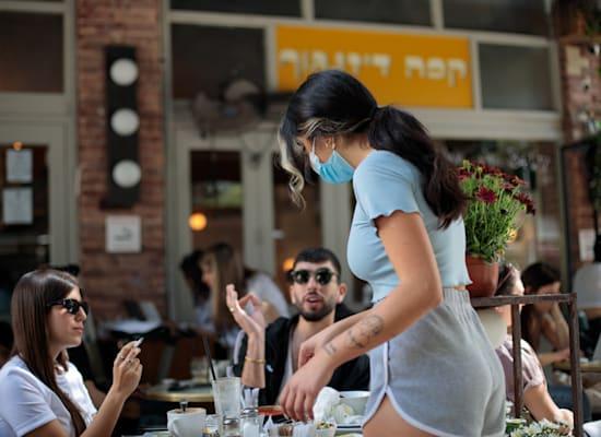 פוסט קורונה בתל אביב / צילום: Shutterstock