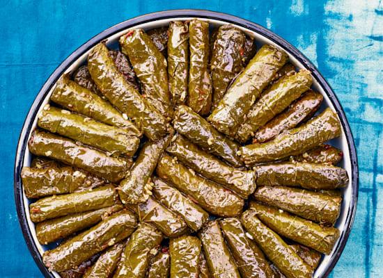 דולמה עלי גפן / צילום: מתוך הספר גרקו מטבח יווני