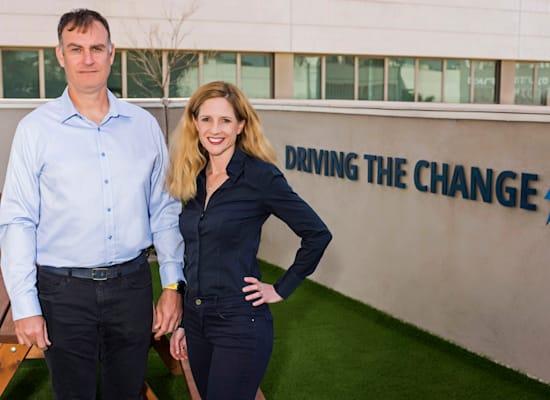 מייסדי IRP Systems מורן פרייס ופול פרייס / צילום: Omri Shapira