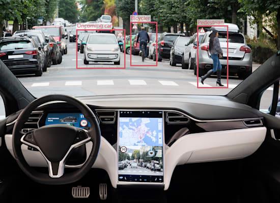 הדמיה של מכונית ללא נהג. הזבוב משאיר פתח לספונטניות / צילום: Shutterstock