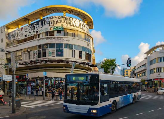 כיכר מגן דוד בתל אביב, שבה מתוכננת תחנת מטרו / צילום: Shutterstock