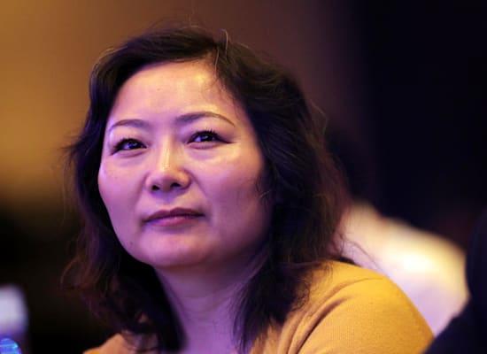 המיליארדרית וו יאג'ון. איבדה את מקומה כאישה העשירה בסין / צילום: Reuters, Beijing