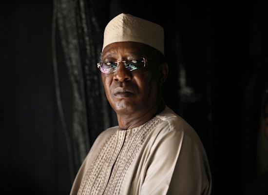 נשיא צ'אד המנוח, אידריס דבי / צילום: Reuters, Ammar Awad