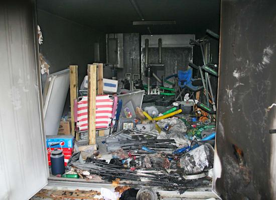 הבקתה שבה נמצא טוני שיי / צילום: Associated Press