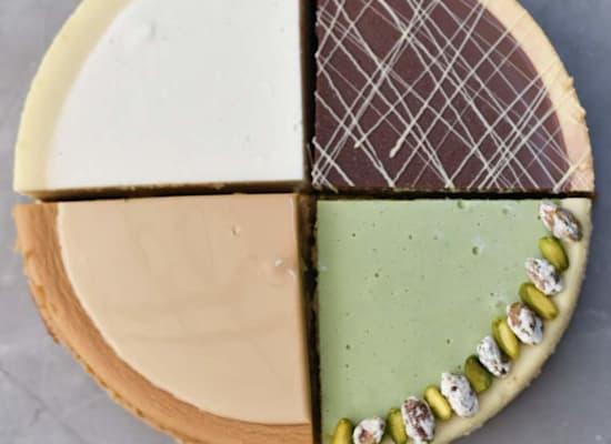 ארבע עוגות גבינה של מגזינו / צילום: כרמל קוך
