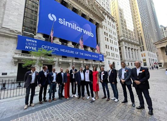הנפקת סימילרווב בבורסה בניו יורק / צילום: NYSE