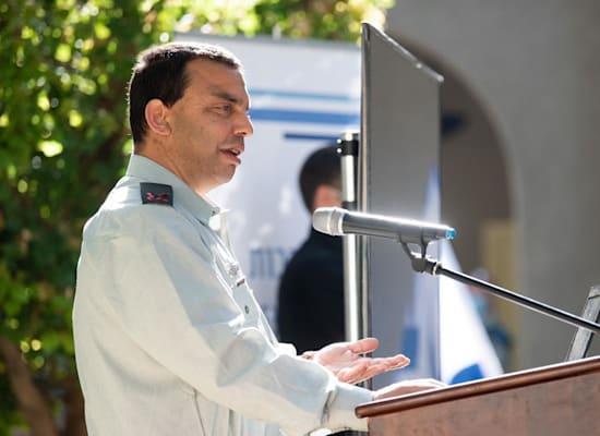 """תא""""ל ערן ניב, ראש חטיבת החדשנות בצה""""ל / צילום: דובר צה""""ל"""