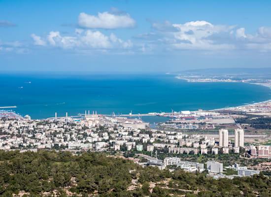 מפרץ חיפה. אזור בעל זיהום אוויר גבוה / צילום: Shutterstock, makarenko7