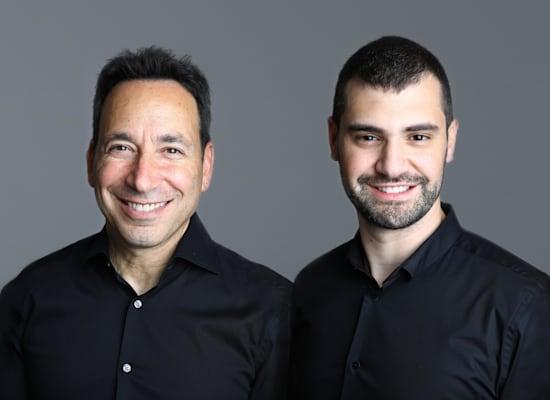 מייסדי סולט סקיוריטי, רועי אליהו ומייקל ניקוסיה / צילום: סלי בן אריה