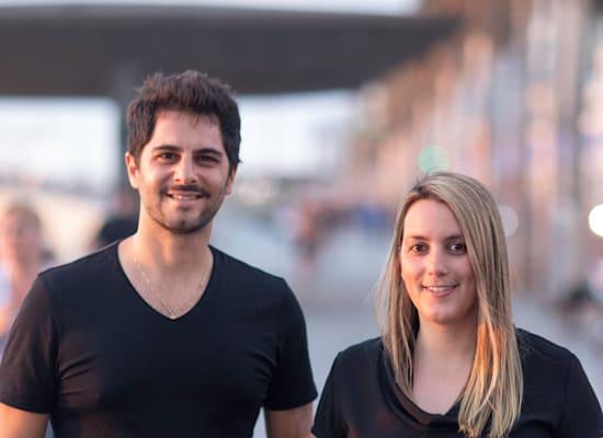 מייסדי סנאפי, חני גולדשטיין ודביר כהן / צילום: Elad Malka