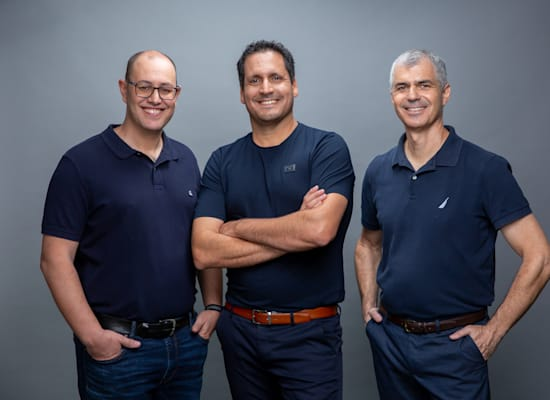 מייסדי דילהאב אייל אלבכרי, אלון לובין ואייל אורגיל / צילום: Bartzi Goldblat