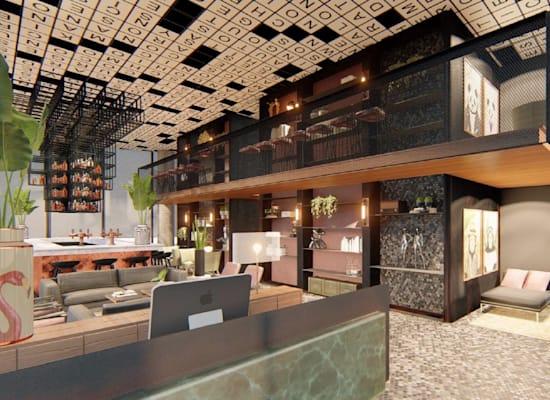 מלון PLAY  בתל אביב. ייפתח סניף גם בירושלים / צילום: AZ.Design