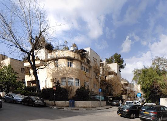 הבניין ברחוב כובשי קטמון בירושלים / צילום: בני לובל