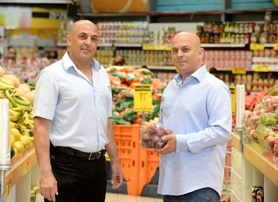 בעלי הרשת פרשמרקט, שלומי ויוסי אמיר / צילום: יח''צ פרשמרקט