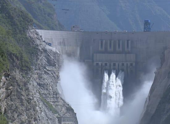 תחנת הכוח ההידרואלקטרית בסצ'ואן / צילום: Reuters, Zhang yunhua