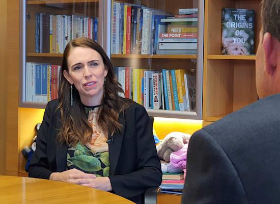 ג'סינדה ארדרן,  ראש ממשלת ניו זילנד / צילום: Associated Press, Sam James