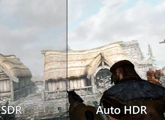 Auto HDR / צילום: מתוך ההכרזה של מיקרוסופט
