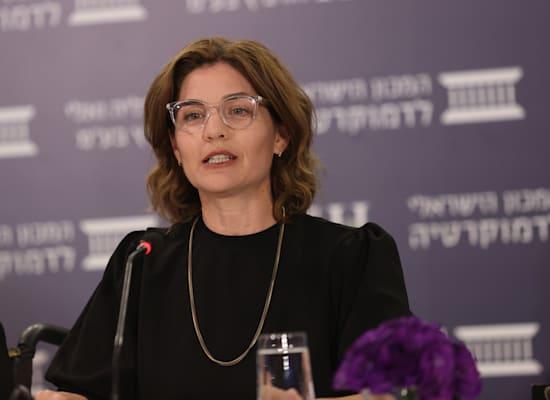 השרה תמר זנדברג / צילום: המכון הישראלי לדמוקרטיה