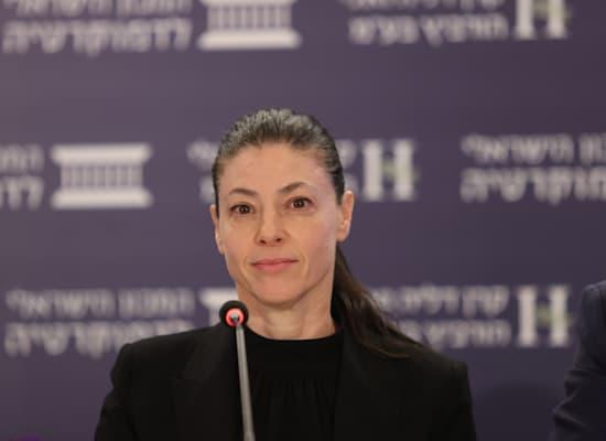 שרת התחבורה מרב מיכאלי / צילום: המכון הישראלי לדמוקרטיה
