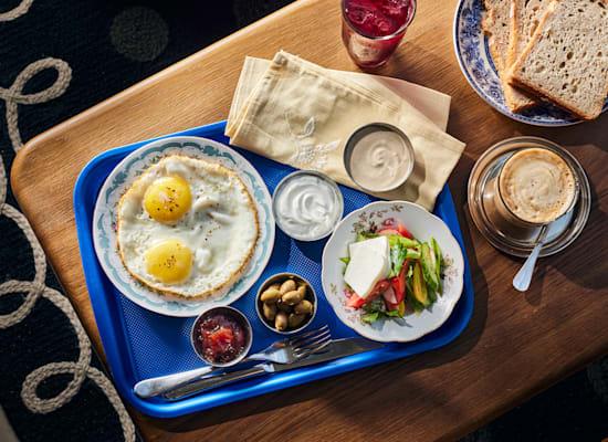 ארוחת בוקר קיבוץ / צילום: אמיר מנחם