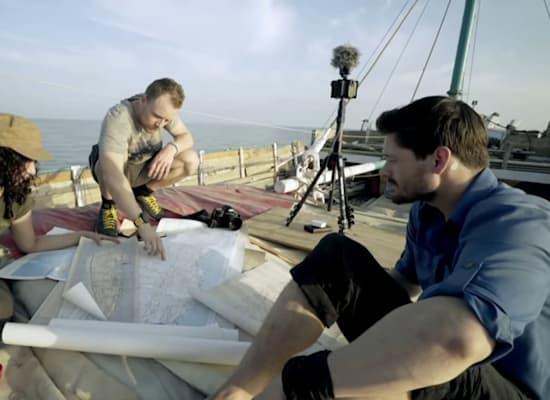 ההפלגה לסוקוטרה דרך סומליה / צילום: צילומי מסך מהרצאת Ted של אל-שמאחי