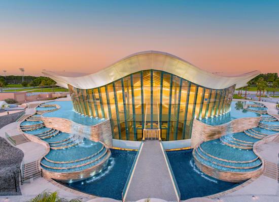 מבנה הבריכה / צילום: Reuters, Deep Dive Dubai