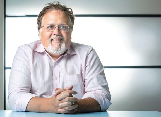 """ד""""ר ג'ונתן ג'אביט,  מנכ""""ל NRX / צילום: אלון רון"""